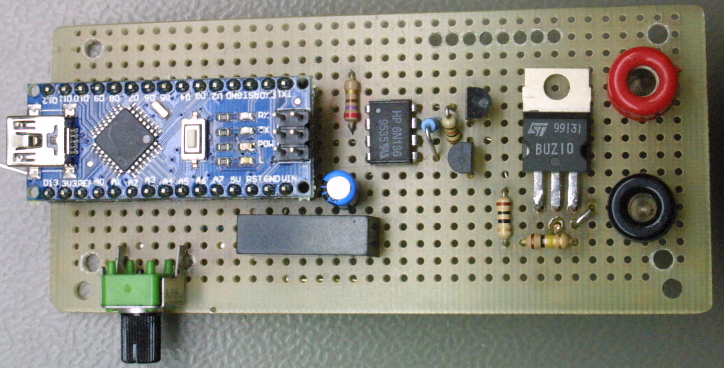 Medium Speed Isolated Power Switch Michael Schwingen 5v 2a Switching Supply Schematic And An 9v Dc Converter Module From Old Ethernet Card Arduino Nano Provides The Pc Interface Generates Repeatable Pulses